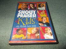 DVD SHOUT PRAISES Kids THE ULTIMATE PARTY SERIES 9 Songs On Screen Lyrics Gospel