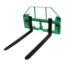 Titan Attachments Pallet Fork Frame With Receiver Hitch And Fork Blades 48
