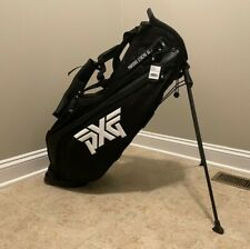New - Pxg Lightweight Carry Stand Bag - New with Tags - Black - incl/ Rain Hood