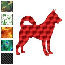 Canaan Dog Decal Sticker Choose Pattern + Size #1932