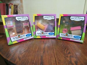 Ryan's Room Wood Fueniture Living In Style, Fine Dining, Pet Set Deluxe New