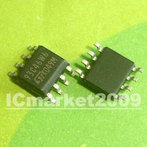 10 PCS M93C46-WMN6TP SOP-8 93C46W6 93C46 ST MICROWIRE serial access EEPROM
