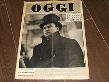 OGGI N. 26 ANNO VII - 1951 MUSSOLINI E IL FASCISMO IN FOTOGRAFIE PRIMA PARTE