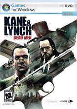 Kane & Lynch Dead Men PC Games Windows 10 8 7 XP Computer action shooter