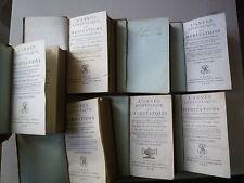 1803 L'ANNEE APOSTOLIQUE OU MEDITATIONS TOME 5 PAR ABBE DUQUESNE CHEZ COLLIGNON
