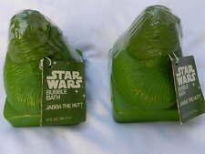 1 Vintage Star Wars Jabba The Hutt Bubble Bath Shampoo Bottle Omni NEW & UNUSED