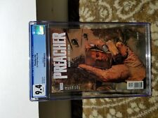 Preacher 18 CGC 9.4 White Pages!