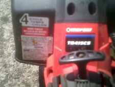 Troy-Bilt 4 Cycle String Trimmer = what you see in pics is item = new gas lines