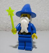 Majisto Wizard Dragon Knights Blue 6076 6020 6048 LEGO Minifigure Mini Figure