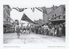 "*Postcard-""The 1942 International Parade"" *Charro Days @ Brownsville Tx (A50-1)"