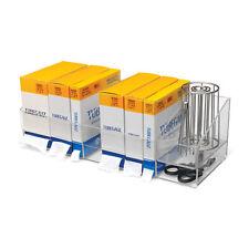 """Tube Gauze Dispenser  7.9375""""W x 0D x 6.687""""H  Each box compartment: 8.375""""W ..."""