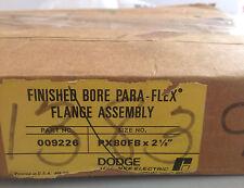 """Dodge Finished Bore Para-Flex Flange Assembly PX80FB x 2 1/8"""" Part No 009226"""