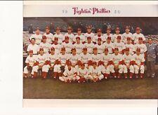 1950 PHILADELPHIA FIGHTIN PHILLIES  8X10 TEAM PHOTO BASEBALL TEAM