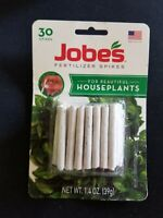 JOBES Fertilizer Spikes 30 Count. Beautiful HOUSEPLANTS TWO 1.4 oz