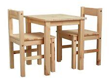 Kids Scandinavia Table and 2 Chairs - Pine.