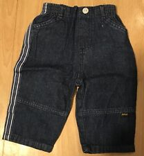 Baby Boy Denim Trousers Jeans 3-6 Months, Immaculate