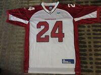 Adrian Wilson #24 Arizona Cardinals Super Bowl NFL Reebok Jersey LG L mens