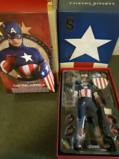 Hot Toys Captain America,The First Avenger,mms205 Sideshow Ex