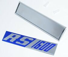 """Ford Escort MK1 Front Wing Badge """"RS 1600""""  NEW!"""