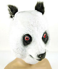 Panda masque homme femme adulte kung fu noir ours blanc latex frais généraux costume nouveau