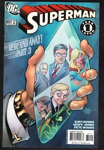 Superman #651--Green Lantern--Supergirl--Up, Up and Away--2006 DC Comic Book