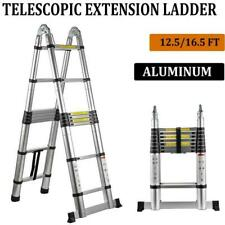 Multi Purpose Aluminum Telescopic Ladder Heavy Duty Folding Extension Step