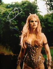SAM JENKINS SORBO - HERCULES ACTRESS - EXCELLENT SIGNED COLOUR PHOTOGRAPH
