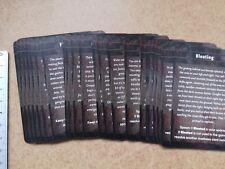 ENDLESS NIGHMARE MADNESS CARDS   /CTHULHU / DEEP MADNESS M311