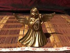 """Solid Brass Angel Bell 4""""x3 1/2"""""""