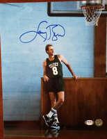 Larry Bird PSA DNA Coa Autograph Hand Signed 11x14 Photo Autograph