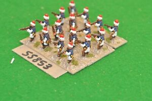 15mm napoleonic / turkish - musketeers 16 figs - inf (55853)
