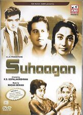 SUHAAGAN - GURU DATT, MALA SINHA - BRAND NEW BOLLYWOOD DVD - MULTI SUBTITLES
