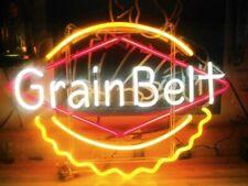 "Grain Belt 20""x16"" Neon Sign Light Lamp Beer Bar With Dimmer"