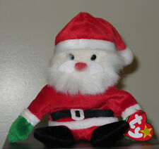 Ty Beanie Baby ~ SANTA the Santa Claus (Christmas / Holiday) MINT with MINT TAGS