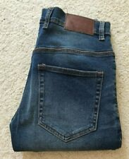 New Mens French Connection slim fit blue denim jeans W 32 L 32