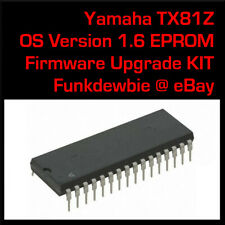 Yamaha TX81Z OS v1.6 EPROM Firmware Upgrade KIT / New ROM Final Update Chip