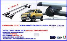 Barre Portatutto Portapacchi per Panda Cross 2014 in poi + Chiavi Antifurto