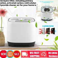 Car Home Office Hepa Filter Touch Ionizer Air Purifiers Home Odor Pm2.5 Remover