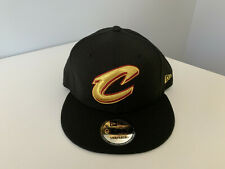 Cleveland Cavaliers New Era Gold On 9FIFTY Adult Snapback Hat
