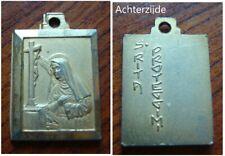 Medaille met de heilige Rita