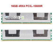 Samsung 16GB 4RX4 PC3L-10600R DDR3-1333MHz 1.35V ECC Registered Server Memory