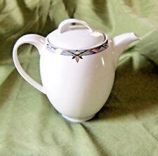Triptis German Porcelain Coffee Pot / 1990-2004 / Dishwasher-safe / Geometric De