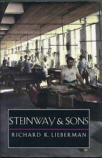 Steinway and Sons by Richard K. Lieberman - (hb,dj,1995,Yale U. Press)