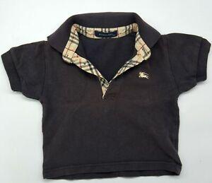 Original Baby Designer Polo Shirt von Burberry Größe 18M 80 86