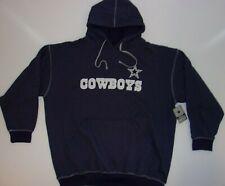 New DALLAS COWBOYS Cotton Twill Long Sleeve Pullover Sweatshirt HOODIE MEN's 4XL