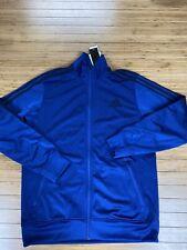 Adidas POST GAME Track Jacket sweat shirt Mens size L