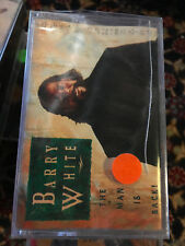 MC NEW       Barry White ‎– Barry White: The Man Is Back!    ( NO LP CD 12