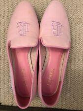 Ralph Lauren Lauren  Collection Pink Cotton Flats Shoes/SLIPPERS SIZE 6.5 UK