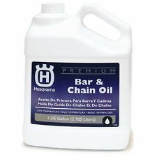 Husqvarna Gallon Conventional Bar Chain Oil Brand Chainsaw Special Additives