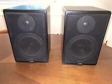 Canton ergo 21 DC bookshelf speakers German Made very rare Audiophile Sound